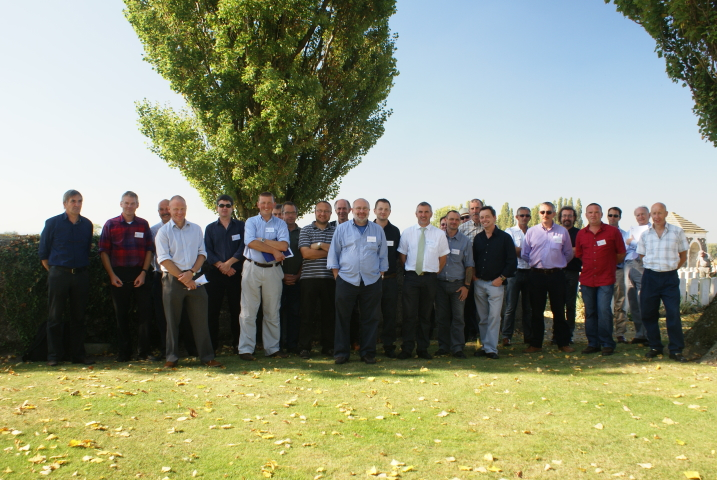Commonwealth War Graves Commission – Speaking at a two-day seminar on tree management and planting – Ypres, Belgium